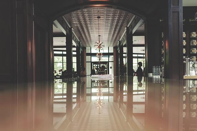 ホテルラウンジのイメージです