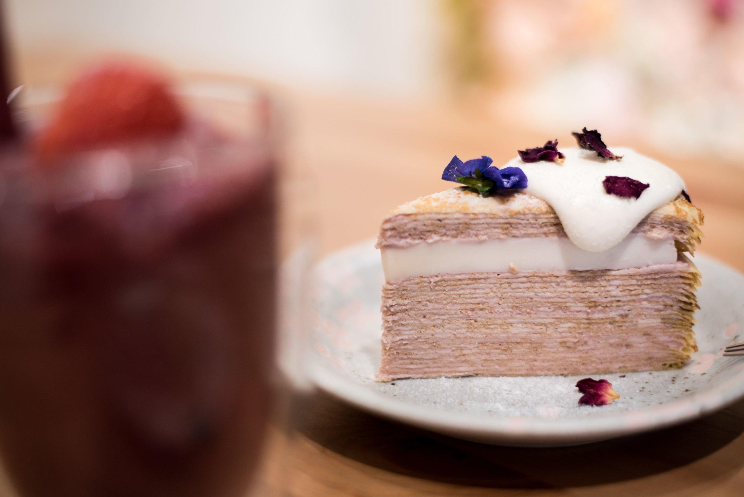 ホイップクリームケーキ