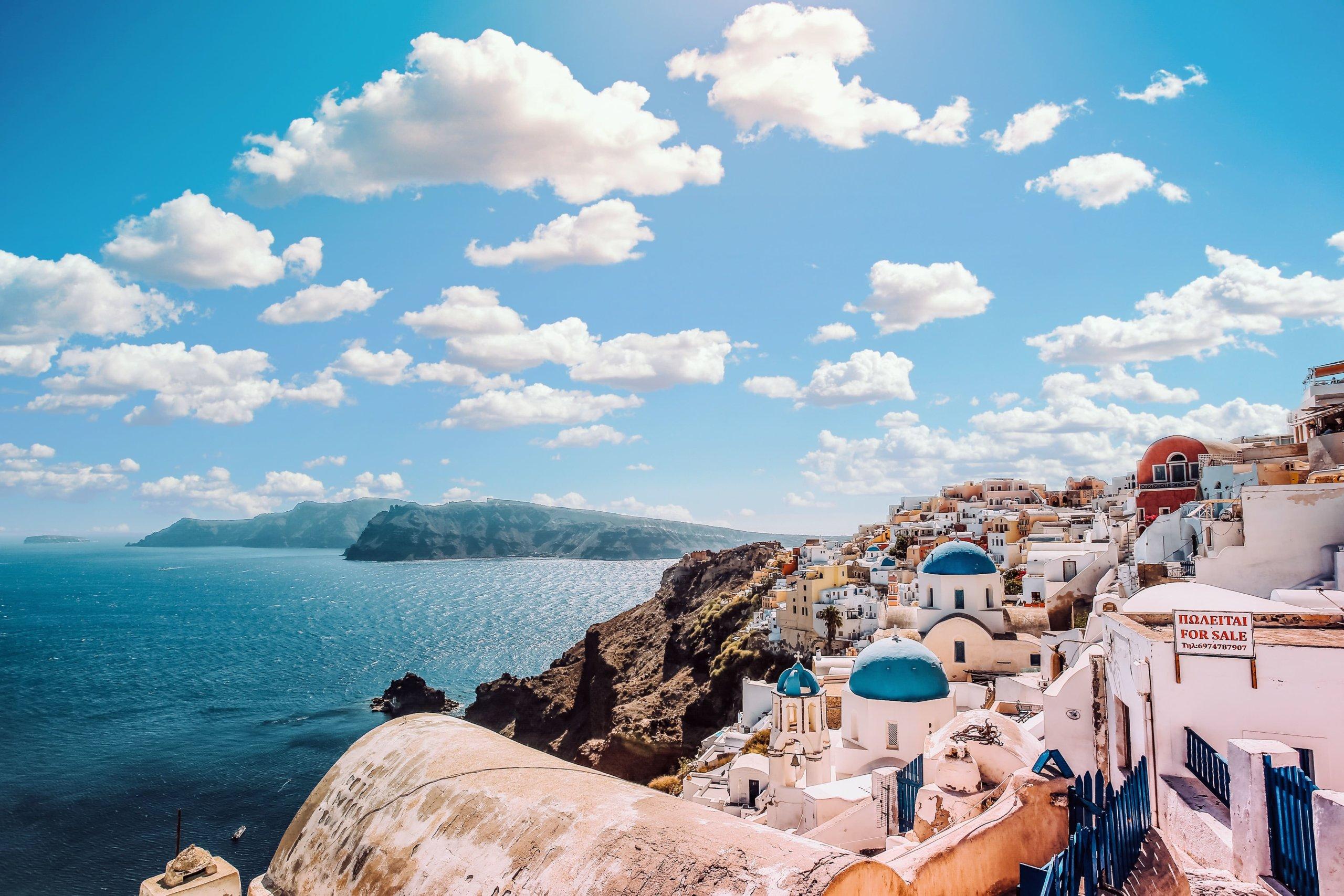 ギリシャへ旅行